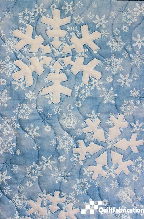 Let It Snow snowflakes