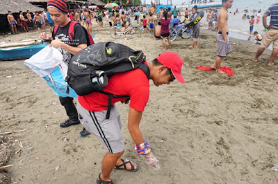 CJ Estrada and Vernon Go picks up thrash in Larawan Beach