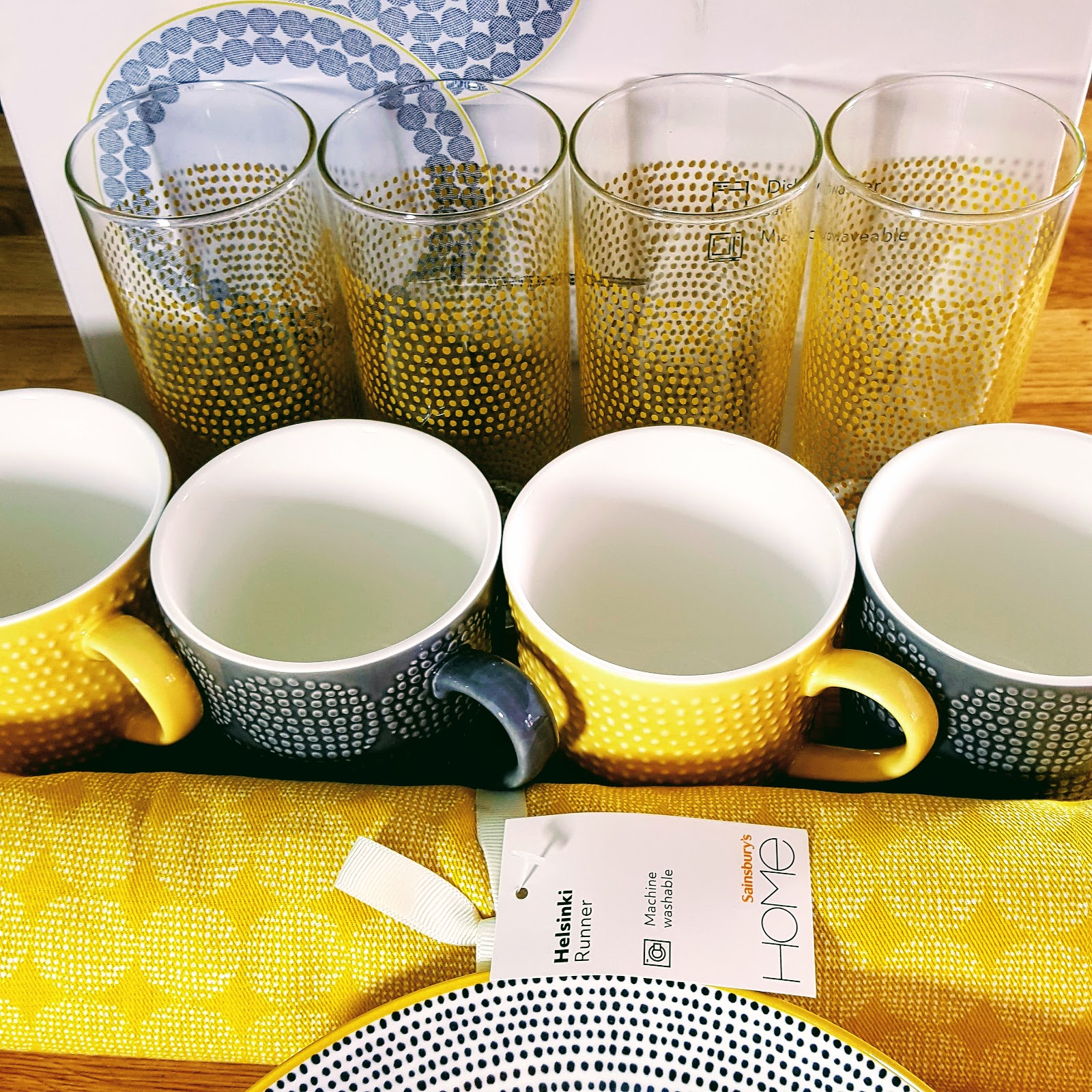 Spring 2018 Tableware Collection From Sainsbury's