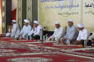 Potret Kegiatan Hai'ah Al Hasaniyyah Wadah Mempererat Alumni Pondok Pesantren Darullughah