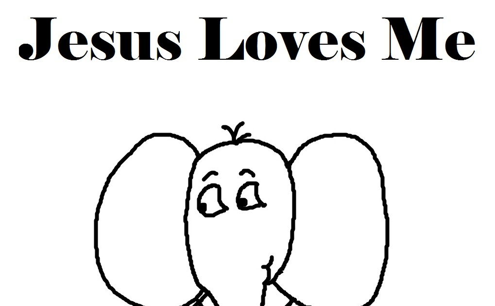Church House Collection Blog: Jesus Loves Me Coloring Pages