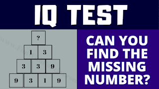 Can you find the value of the missing number which will replace the question mark