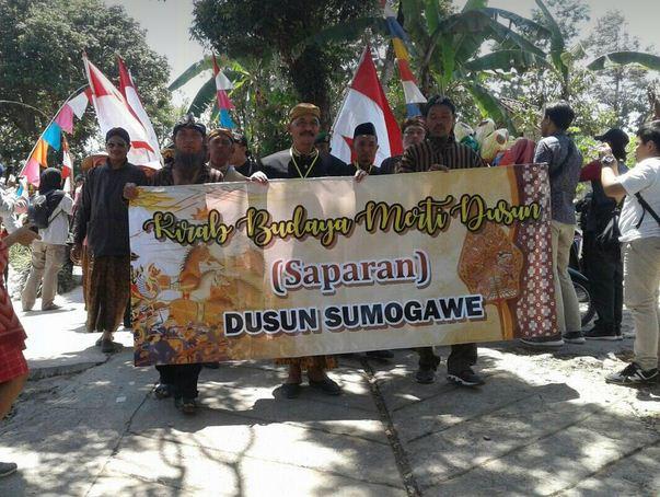 Saparan Desa Sumogawe, Getasan