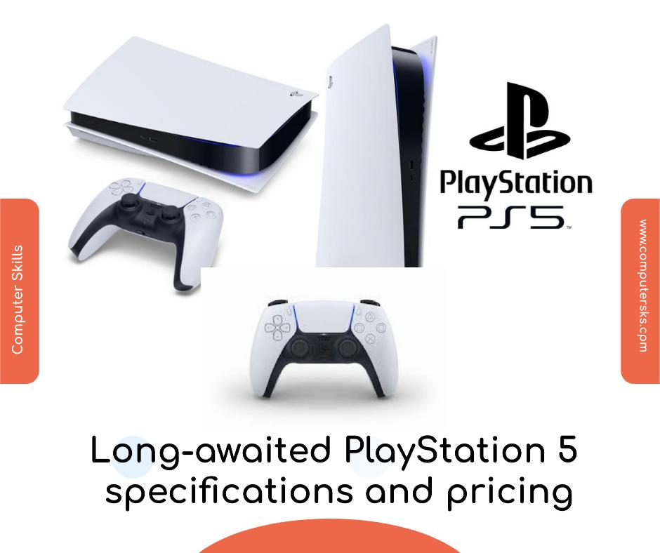 Spécifications et prix de la PlayStation 5 tant attendue