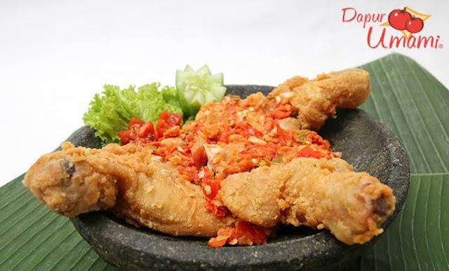 Bisnis Makanan Ayam Geprek