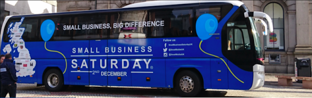 Annual Small Business Saturday United Kingdom Bus Tour