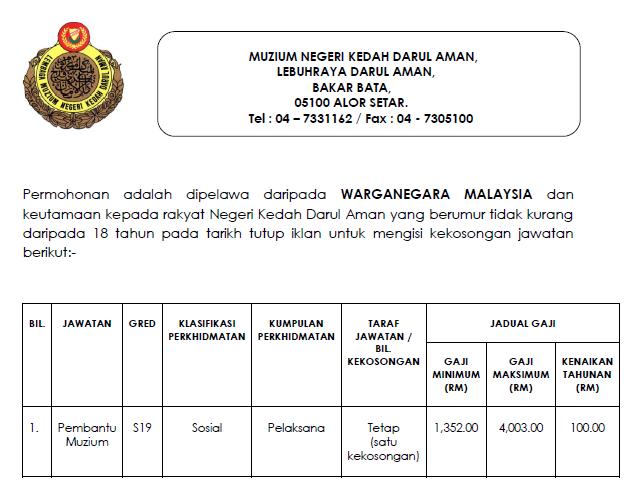 Muzium Negeri Kedah Darul Aman