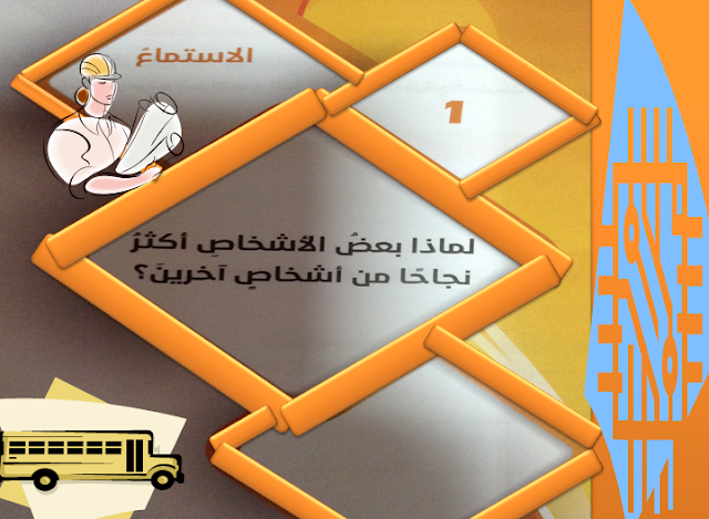 حل درس أكثر الناس نجاحا في اللغة العربية للصف التاسع