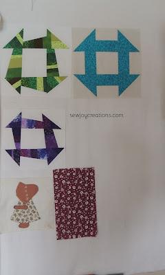 design wall churn dash blocks