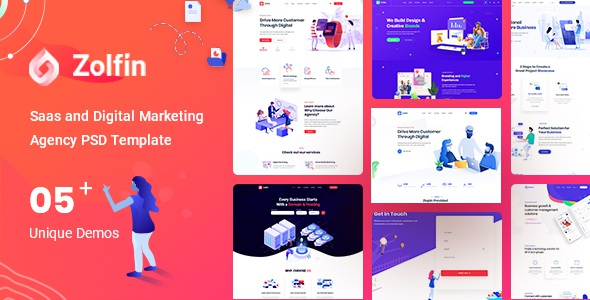 Best Startup and Creative Multipurpose Template