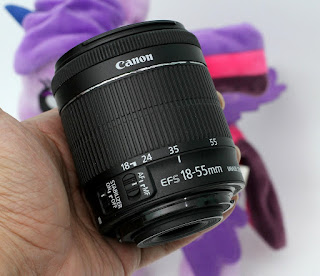 Jual Lensa Kit Canon 18-55mm STM Bekas