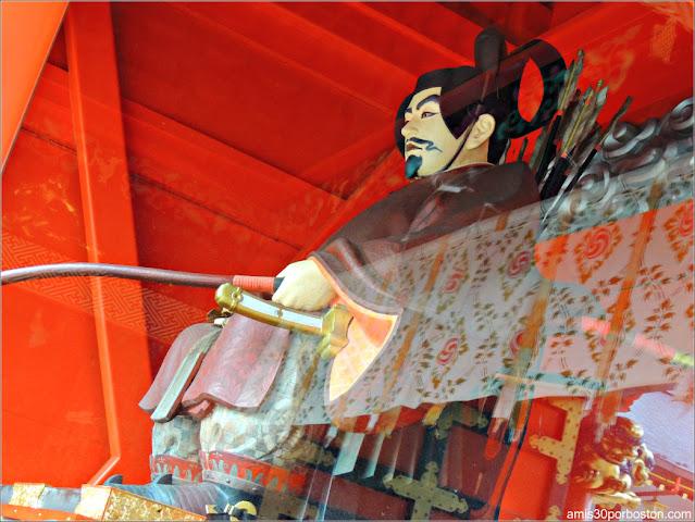 Zuijin de la Puerta Zuishinmon en el Santuario Kanda Myojin