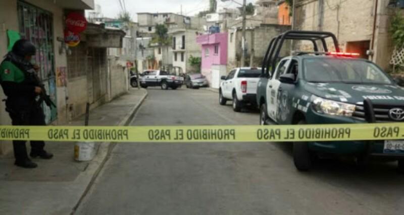 Menor recibe ina bala perdida durante ejecucion en Veracruz