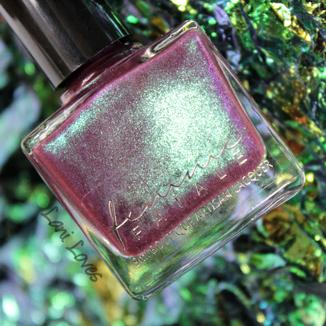 Femme Fatale Whispers of Velvet Nail Polish Swatches & Review