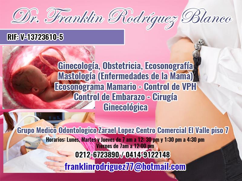 DR. FRANKLIN RODRIGUES BLANCO en Paginas Amarillas tu guia Comercial