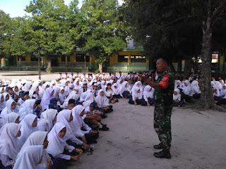 SMP N 1 Tanjung Beringin awali sekolah dengan gembira dan akan ciptakan sekolah ramah anak