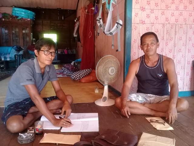 Tim Tanah Ulayat Adat Bawoy Udung Tidak Tahu Pengrusakan Tanaman Sawit Milik PT BCL