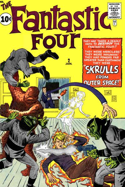 Halls of the Nephilim: Skrulls (Marvel Crawl Classics)