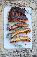 Costillas de cerdo con salsa barbacoa by Jamie Oliver