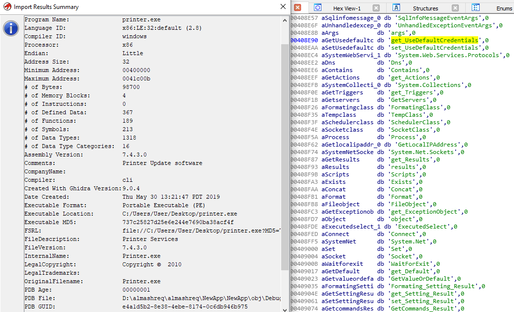 - ida ghidra - Hackers Abusing Microsoft Azure to Deploy Malware and C2 Servers