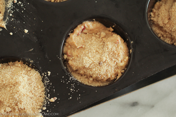How to make apple cinnamon breakfast muffins from scratch