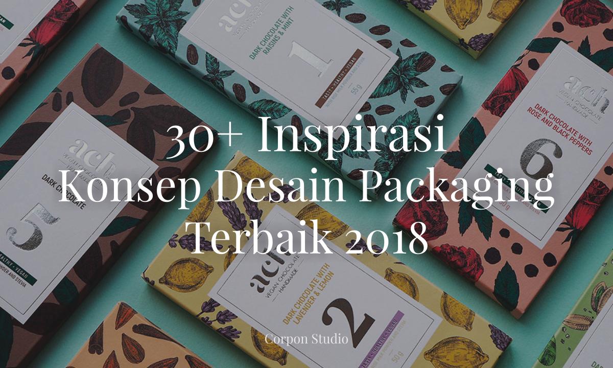 30+ Inspirasi Konsep Desain Packaging Terbaik 2018