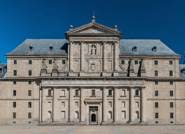 Monastero di San Lorenzo de El Escorial biblioteche più belle del mondo