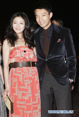 Barbie Hsu at Christine Fan wedding