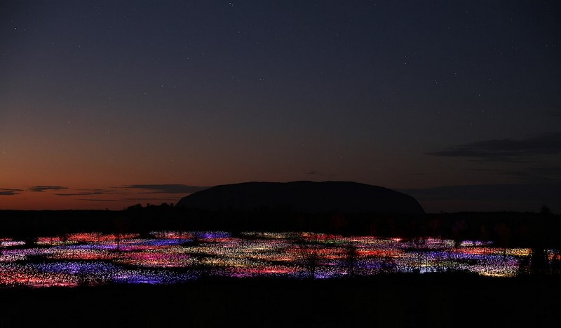 Field of Light Uluru | Bruce Munro