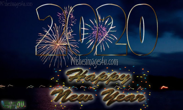 Happy New Year 2020 HD Pictures With Firework Download Free - New year 2020 Firework Pictures Download Free In HD