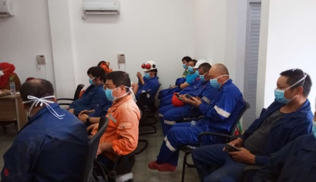 Antisipasi  Penyebaran Corona, Polres Madina Koordinasi Dengan Instansi Terkait
