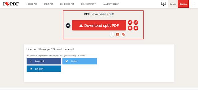 Cara Membagi File PDF (Split PDF) dari Satu File Menjadi Beberapa File