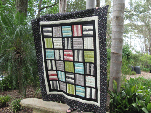 Scrappy Blocks Quilt ~ Threading My Way
