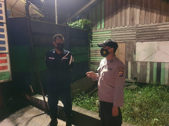 Blue Patrol Everyday di wilkum Polsek Sungai Sampit