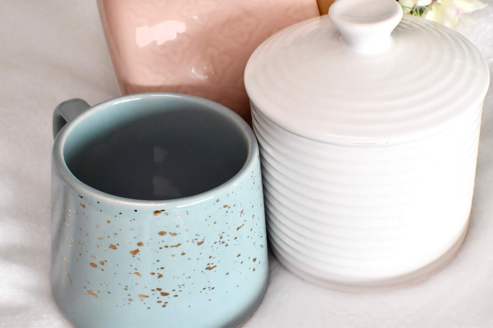 Blue Speckled Mug from TK Maxx