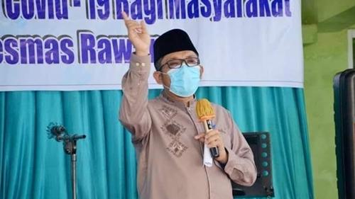 Wawako Hendri Septa Launching Pelaksanaan Vaksinasi Covid-19 Kategori Lansia dan Aparat Pelayan Publik