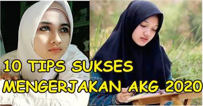 Tips Sukses Mengerjakan Ujian AKG Madrasah