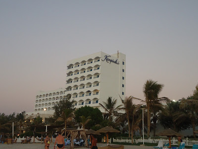view of kempinski hotel ajman