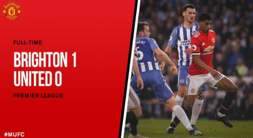 Brighton vs Manchester United 1-0 Highlights