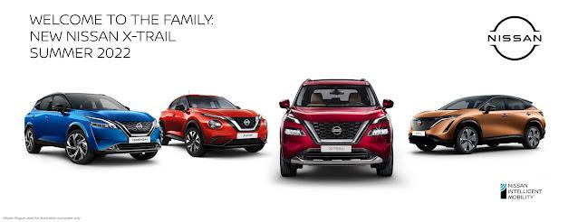 The new Nissan X-TRAIL