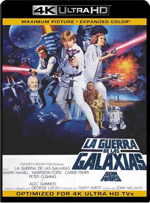 Star Wars: Episodio IV – Una nueva esperanza (1977) 4K 2160p UHD [HDR] Latino [GoogleDrive]