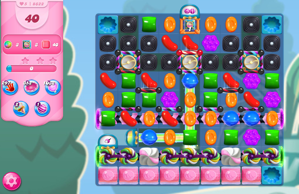 Candy Crush Saga level 8622