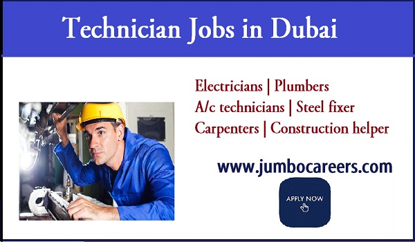 available job vacancies in Dubai, UAE job opportunities 2018,