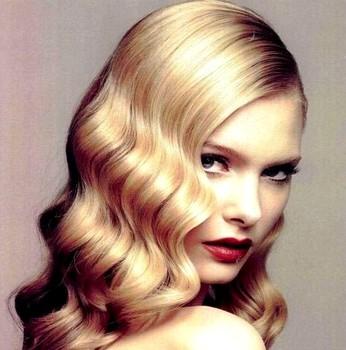 Model rambut wanita terbaru finger wave