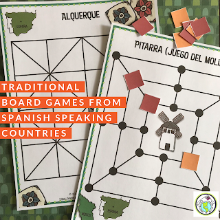 5 Traditional Board Games from Spanish speaking Countries
