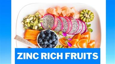 Zinc Rich Fruits