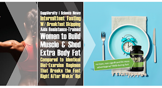 Intermittent Fasting in Trained Women Adds Same Amount of Muscle, Strips Extra Body Fat (4-6%) | No Effect of HMB 2