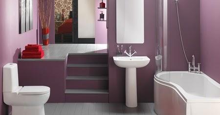 desain kamar mandi minimalis modern - dindin design