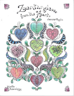 Zentangle from the heart, Jeanne Paglio