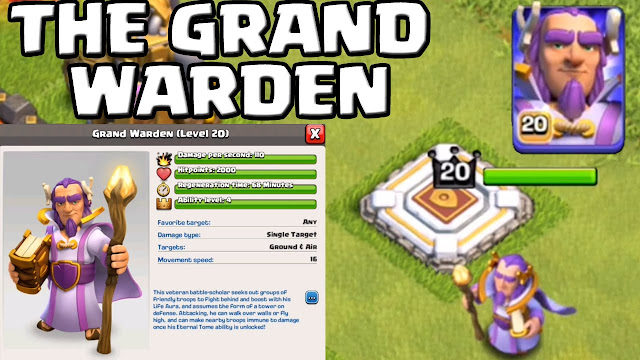 Grand Warden Clash Of Clans